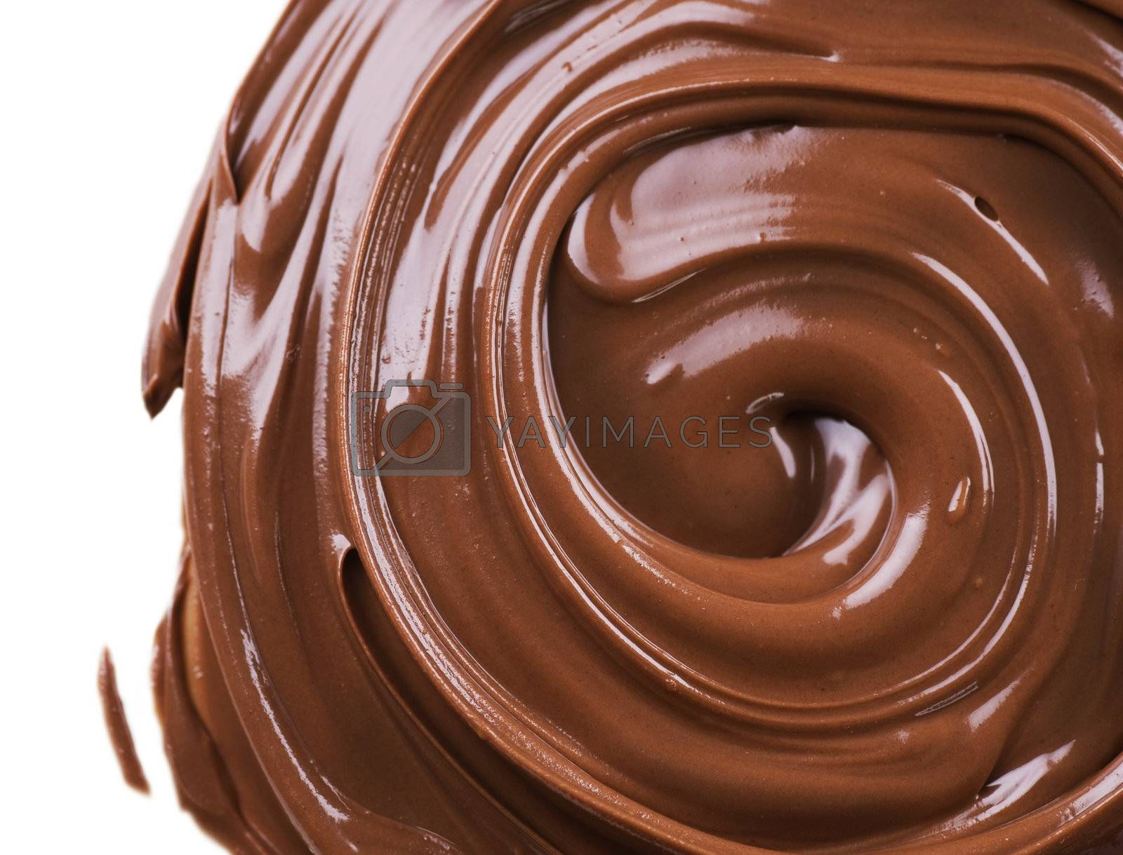 Chocolate background by Subbotina Anna