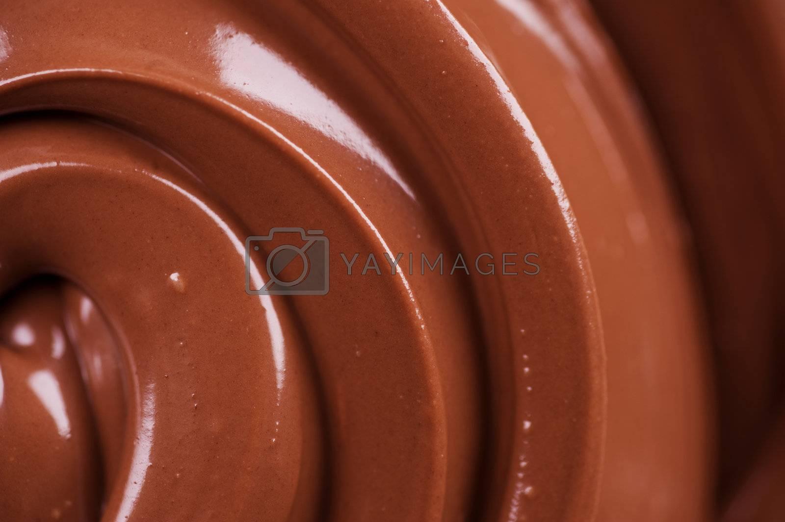 Chocolate backgroud by Subbotina Anna