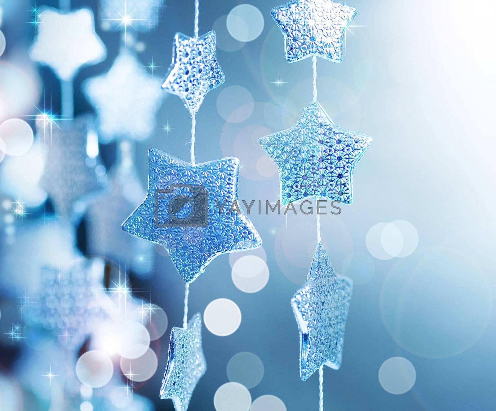 Christmas background. Winter by Subbotina Anna
