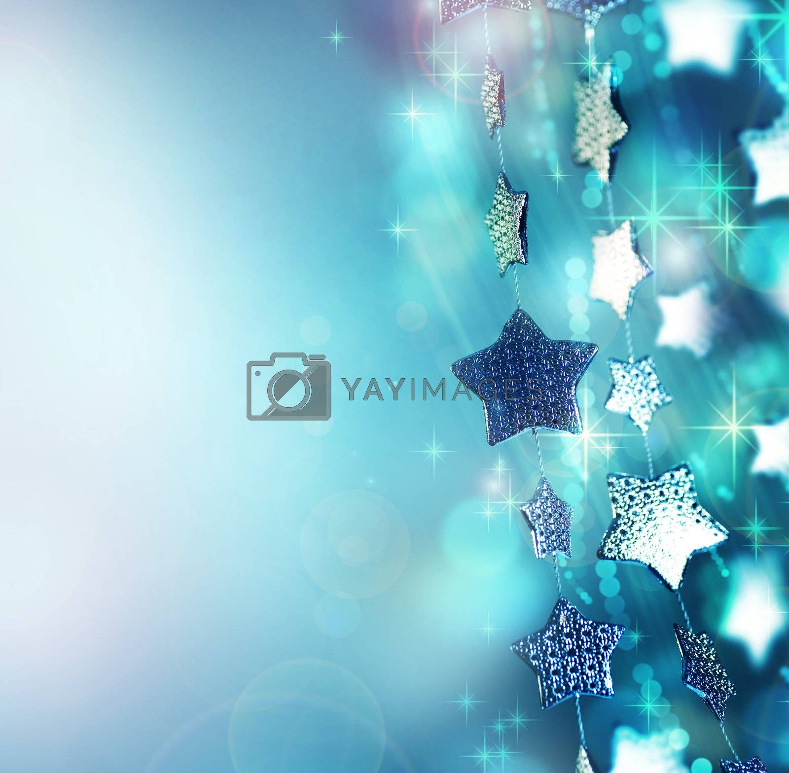 Christmas background. Holiday abstract background by Subbotina Anna