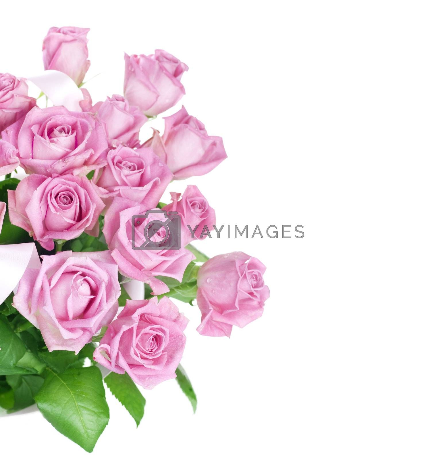 Big Roses Bouquet by Subbotina Anna