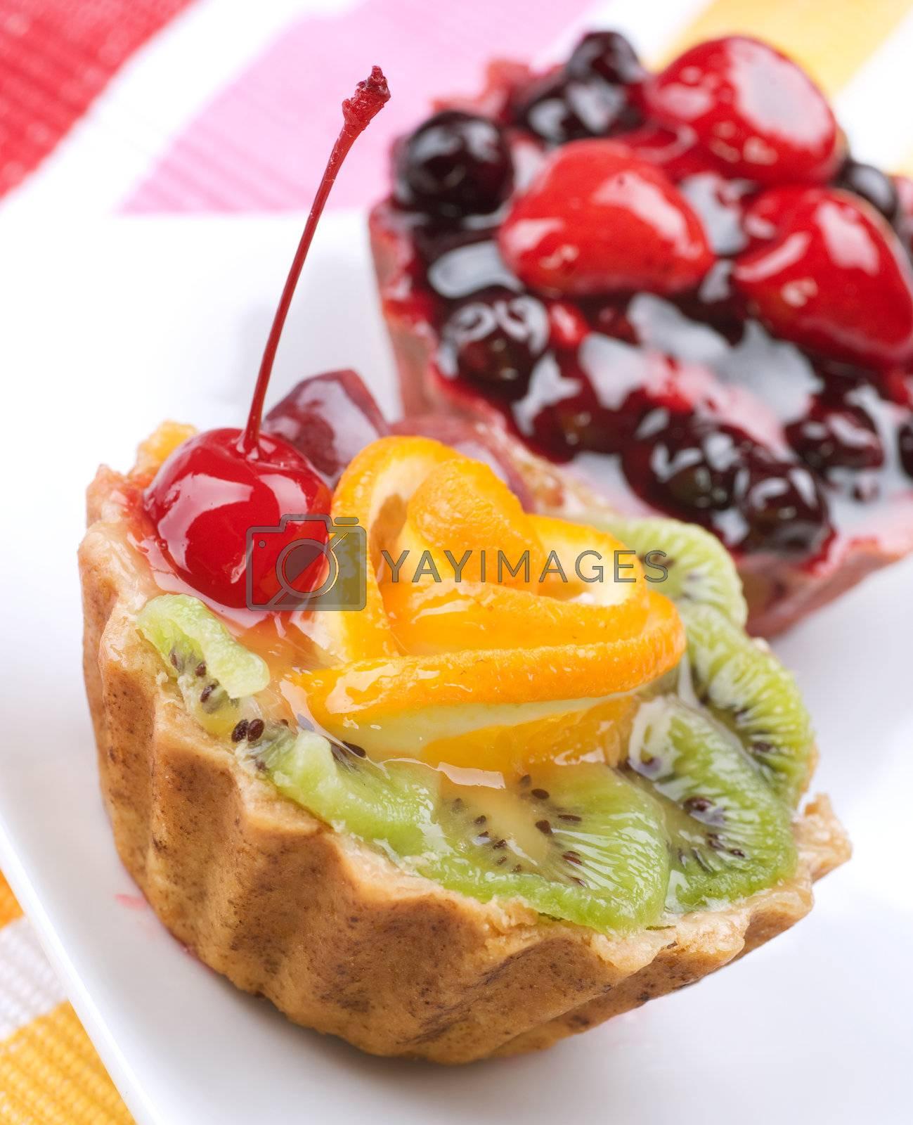 Fruit Cake by Subbotina Anna