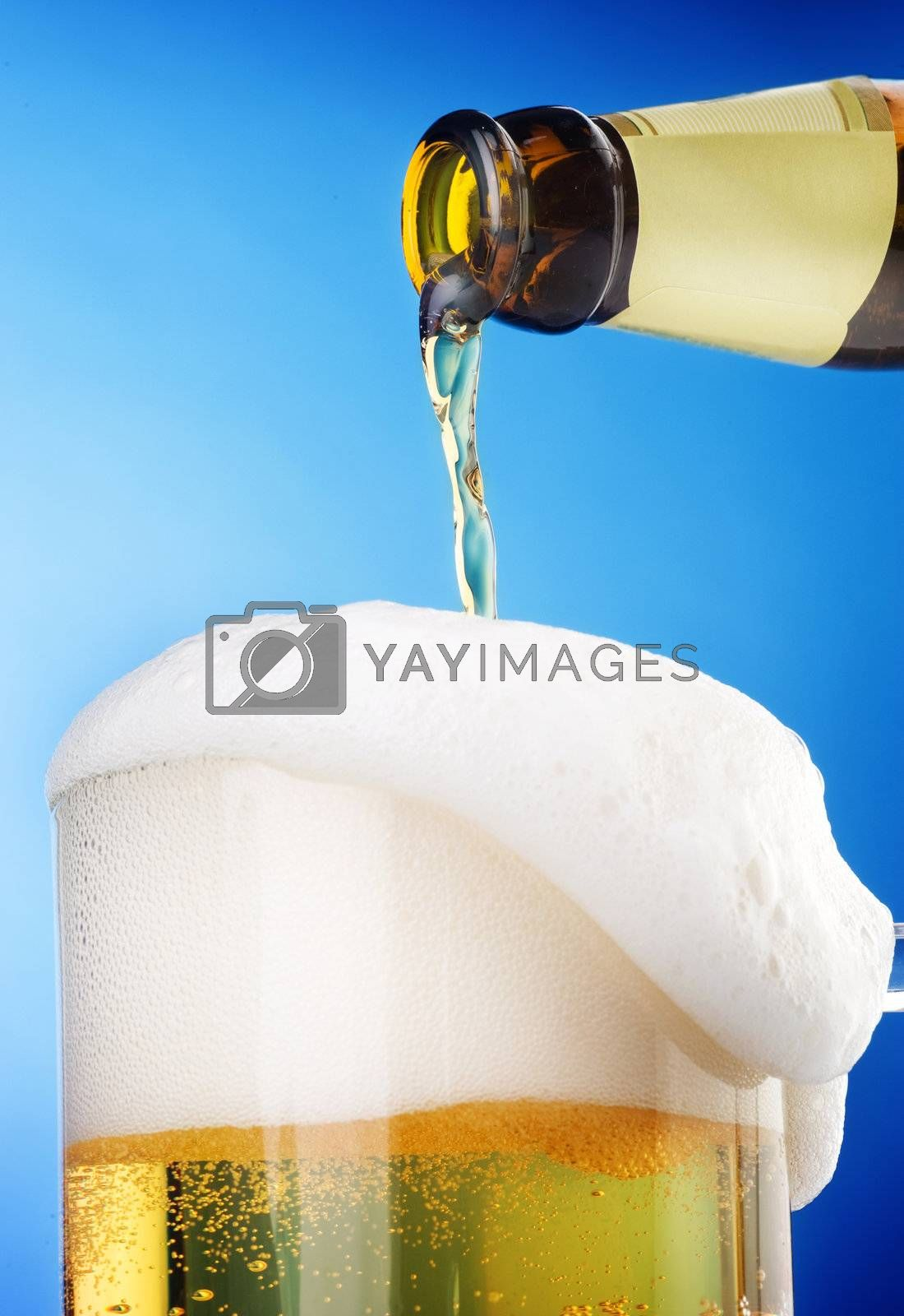 Pouring Beer by Subbotina Anna