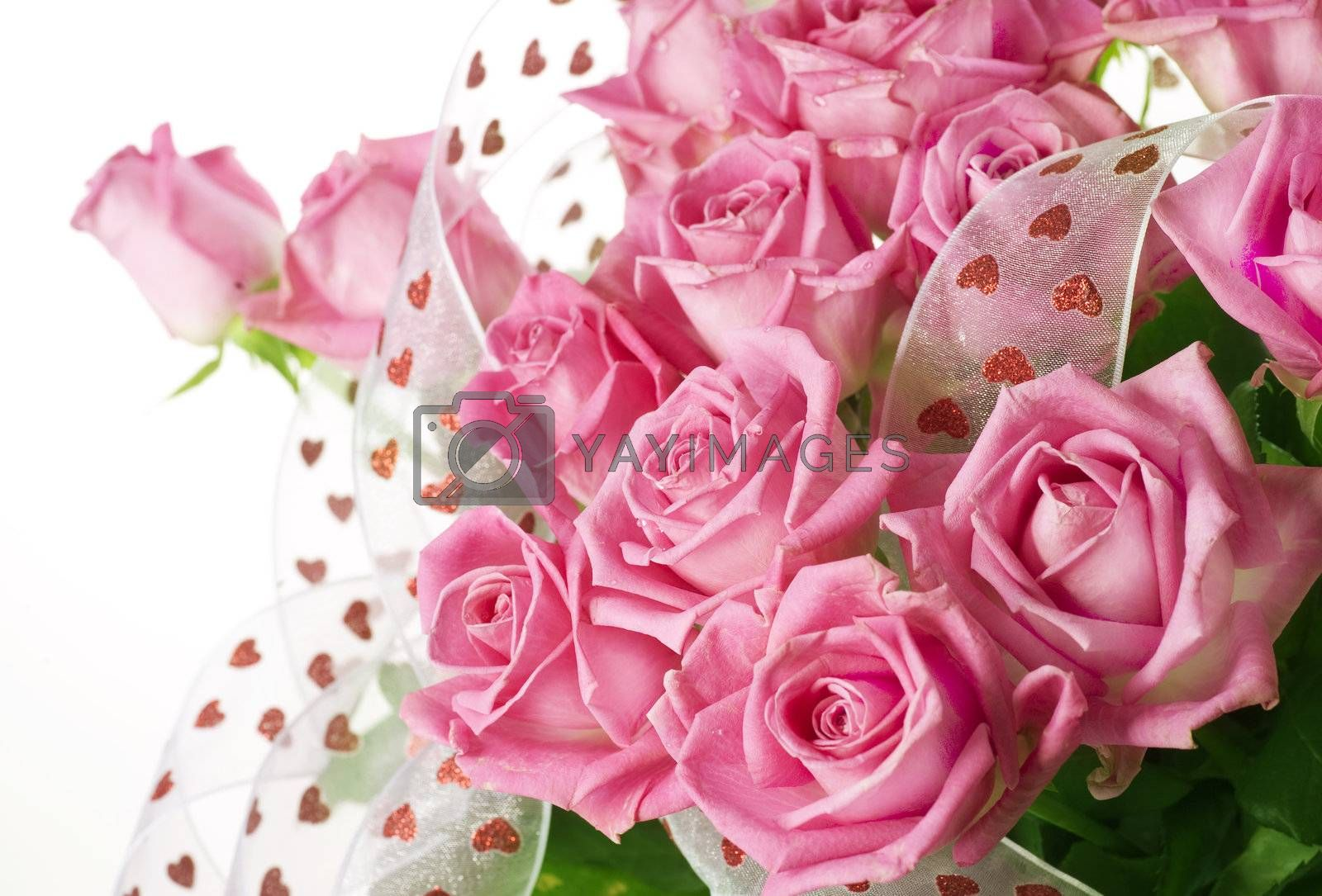 Beautiful Roses Bouquet by Subbotina Anna