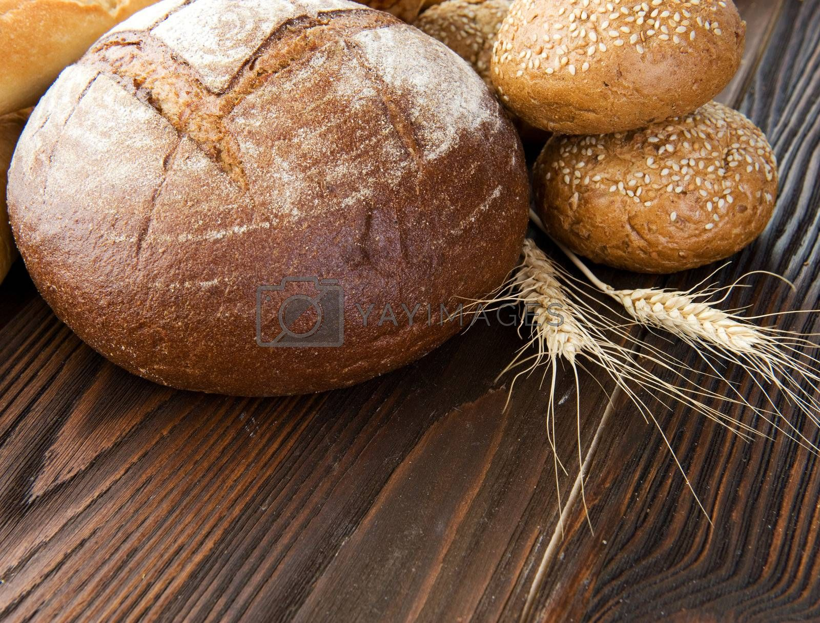 Bakery Bread Border  by Subbotina Anna