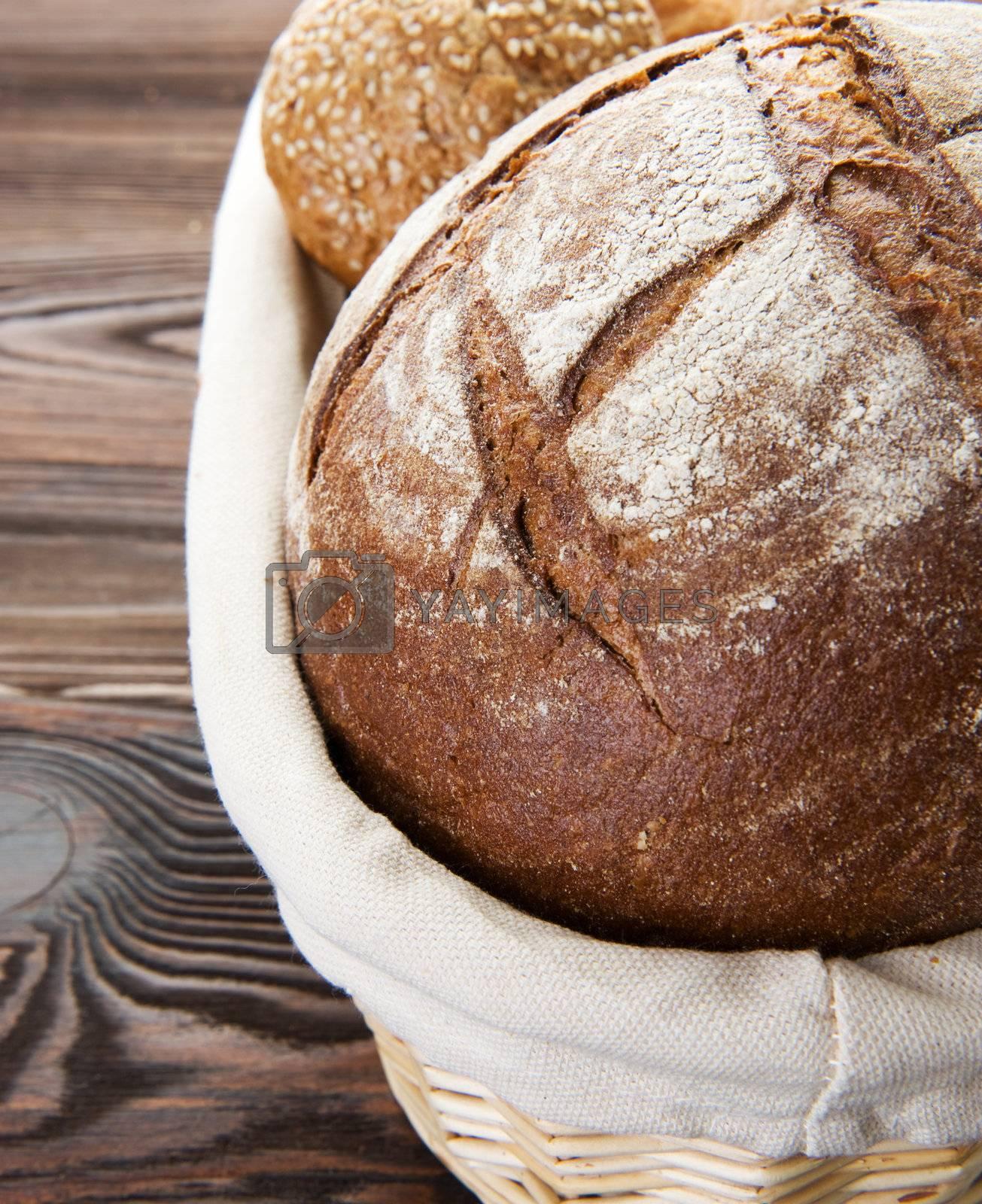 Bread Closeup  by Subbotina Anna