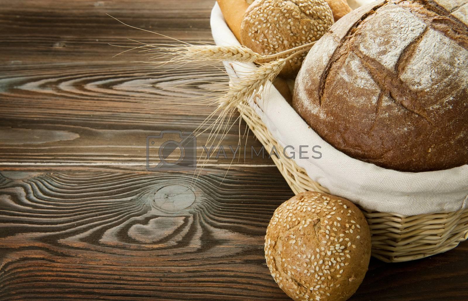 Bread Border  by Subbotina Anna