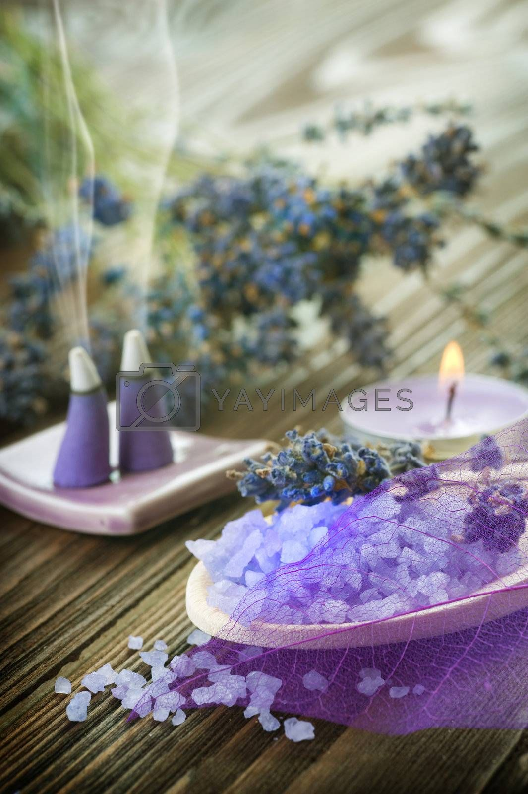 Aromatherapy. Lavender Spa by Subbotina Anna