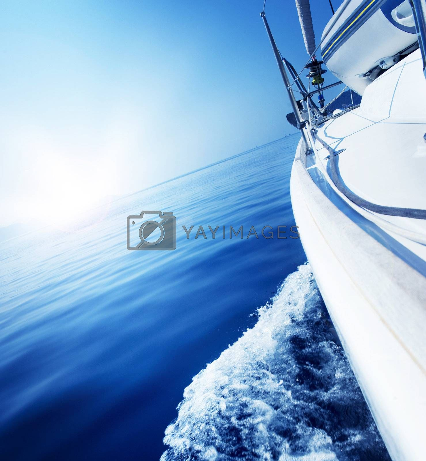 Travel .Luxury Yacht