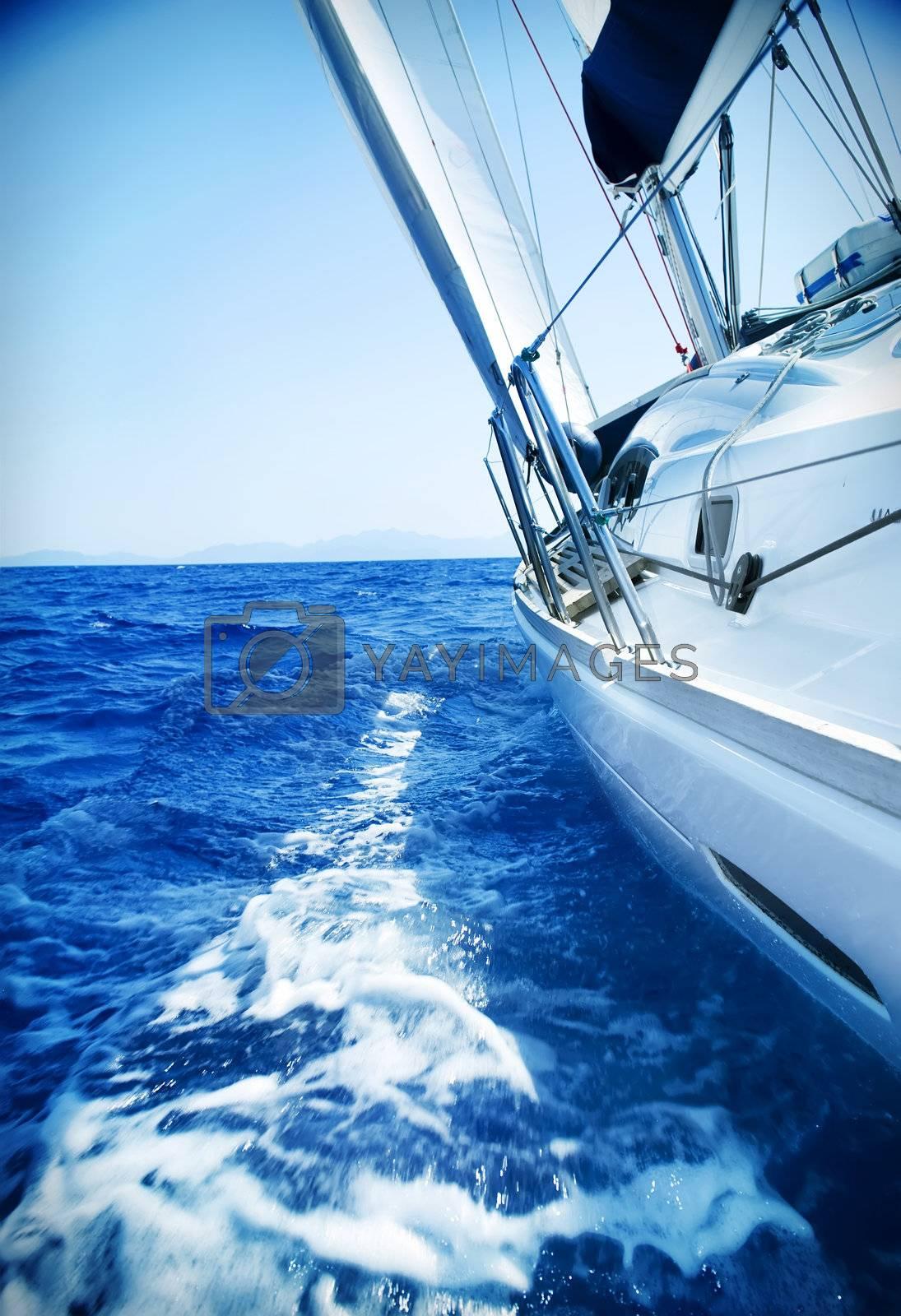 Luxury Yacht. Travel