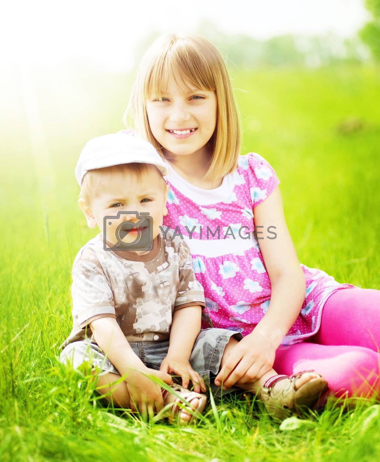 Happy Kids Outdoor by Subbotina Anna