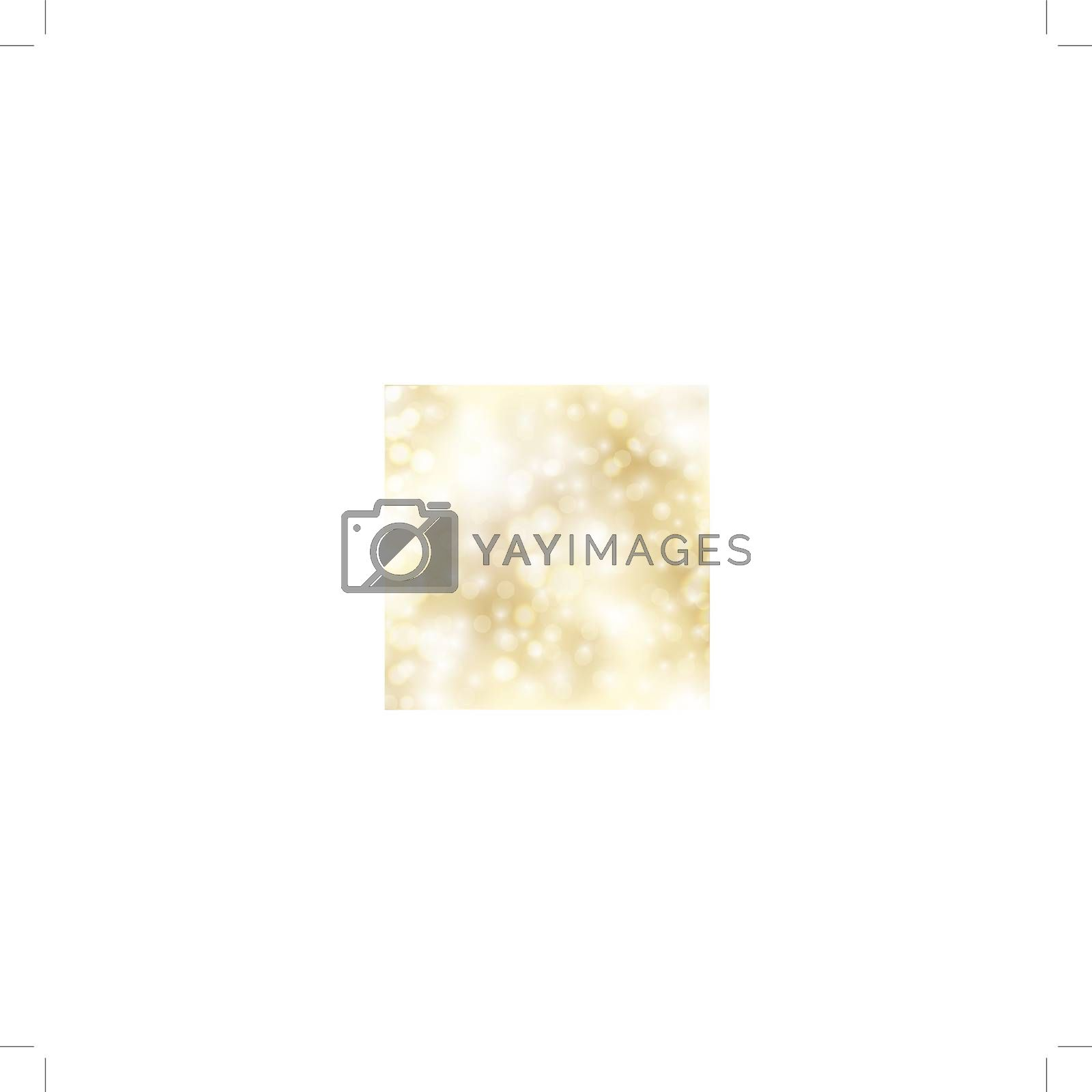 abstract glowing holiday golden background