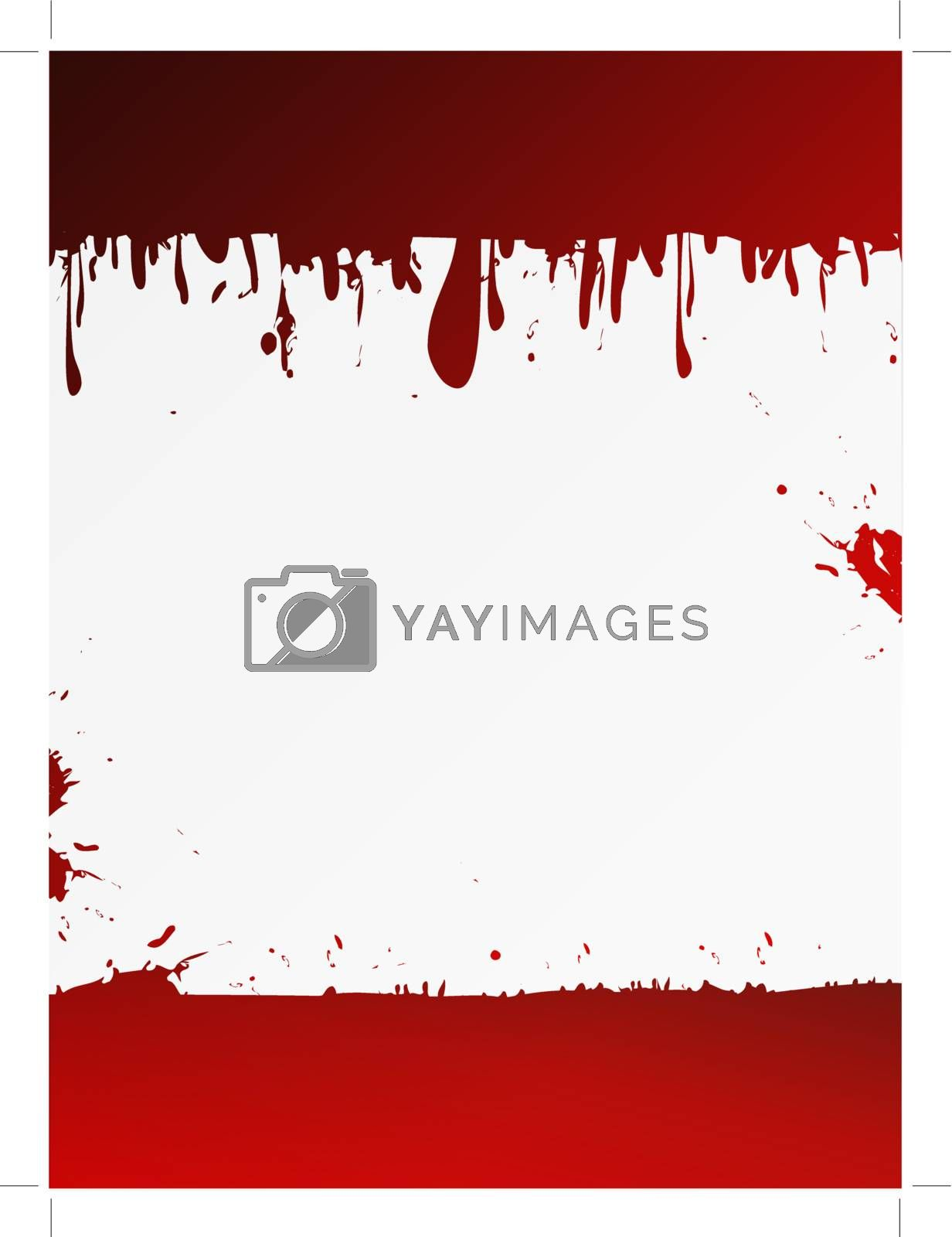 grunge liquid background with copyspace for your text