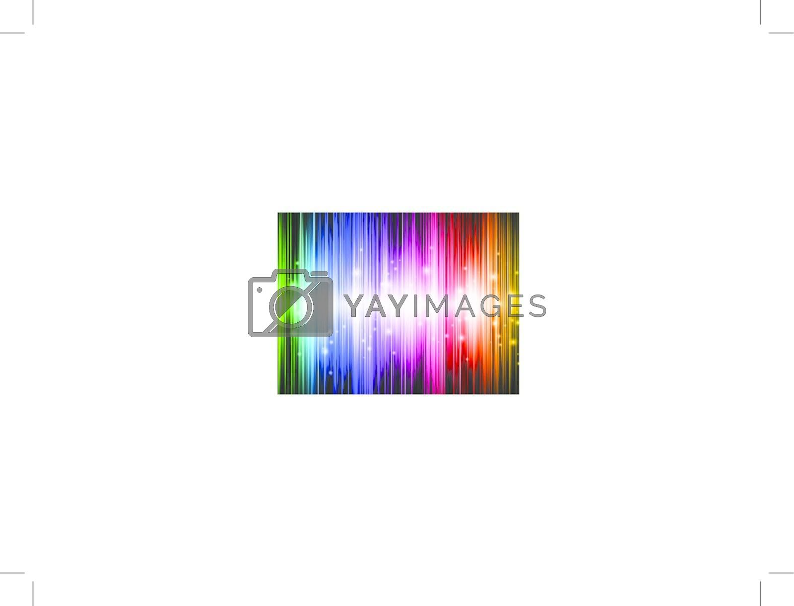 Rainbow multicolored abstract bright background with lights