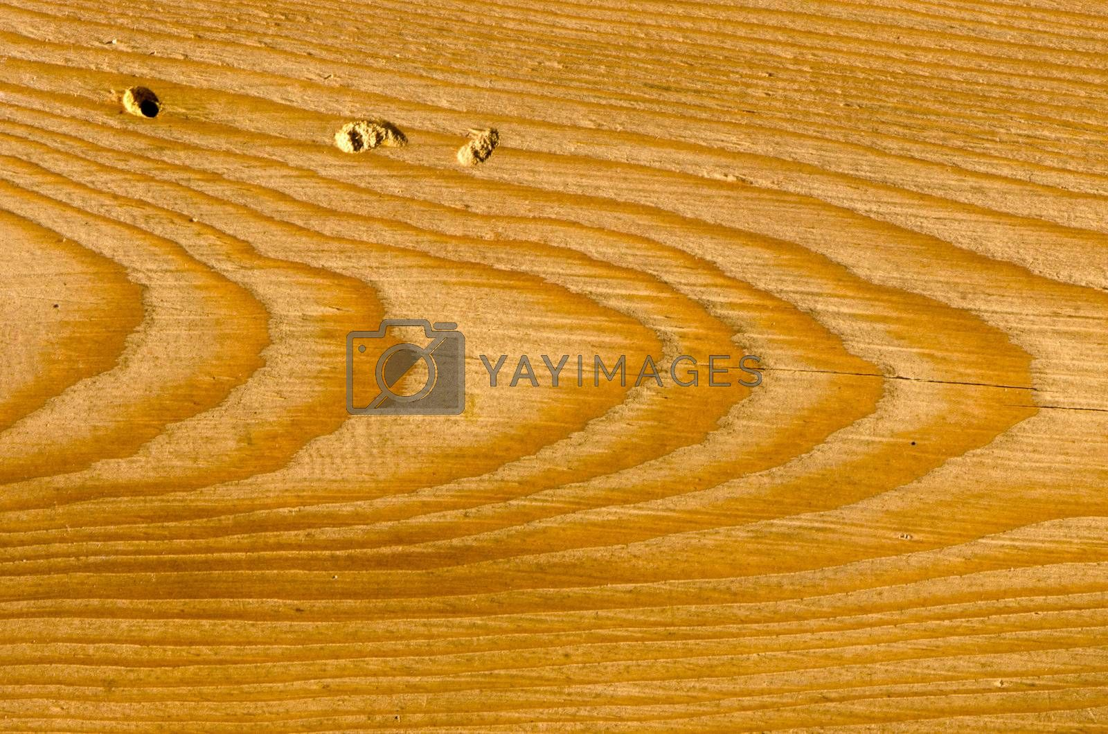 Background of wooden building wall plank closeup details fragment.