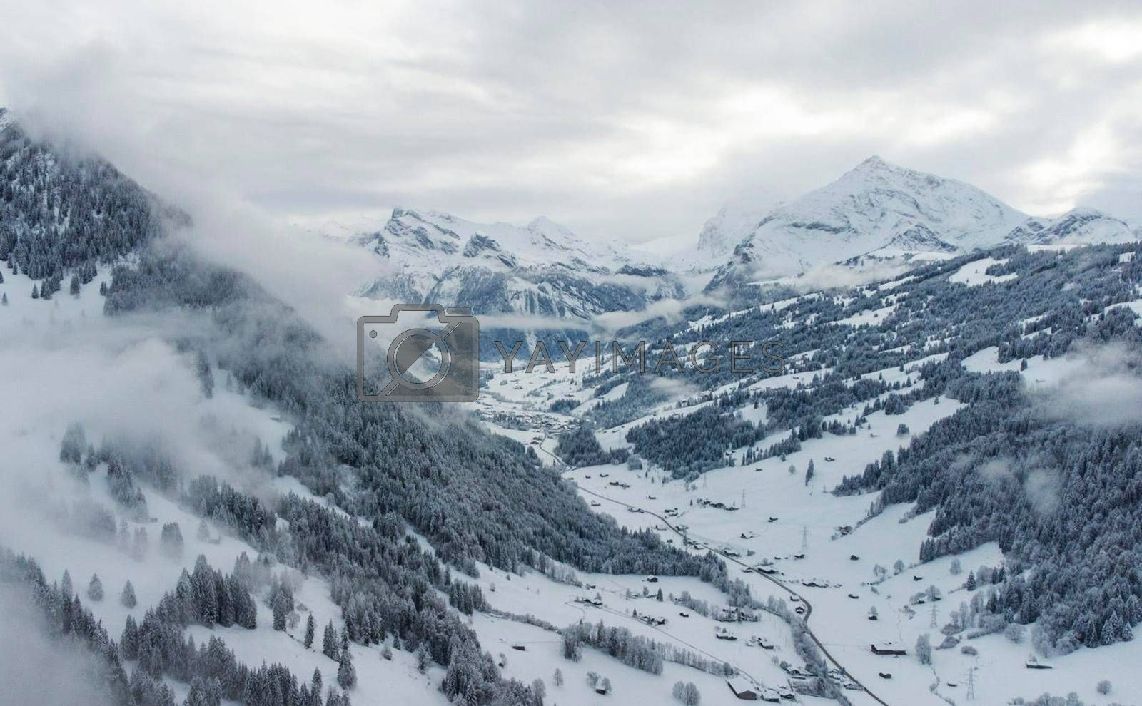 Royalty free image of Gstaad Switzerland  pictures by TravelSync27