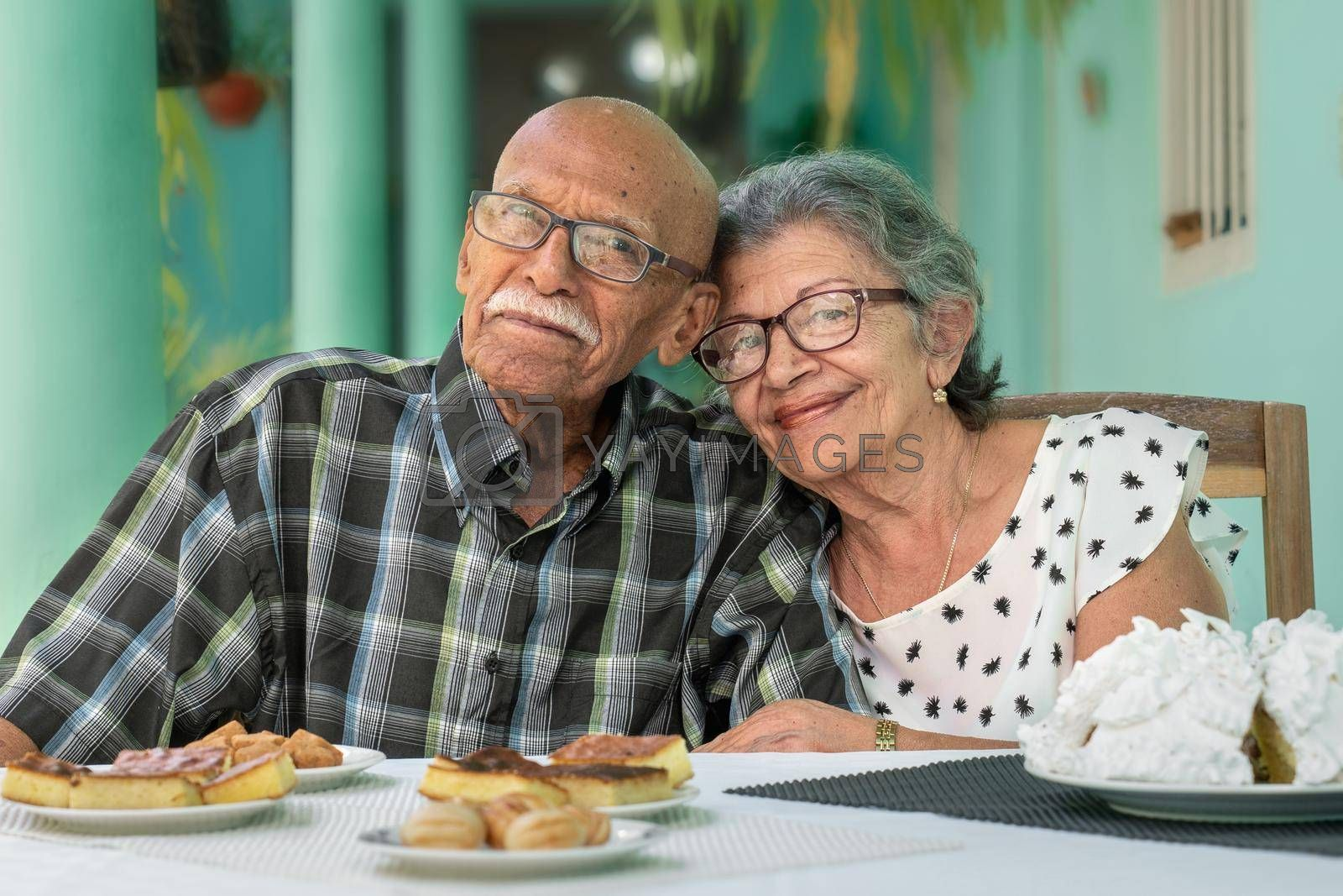 Royalty free image of Elderly couple by jrivalta