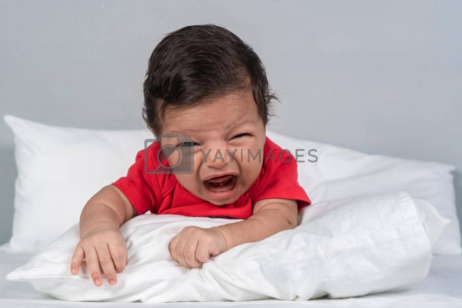 Royalty free image of Crying infant by jrivalta