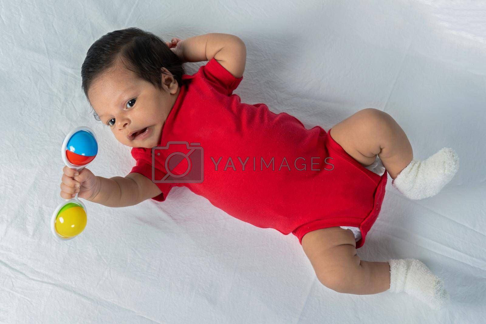 Royalty free image of Infant child by jrivalta