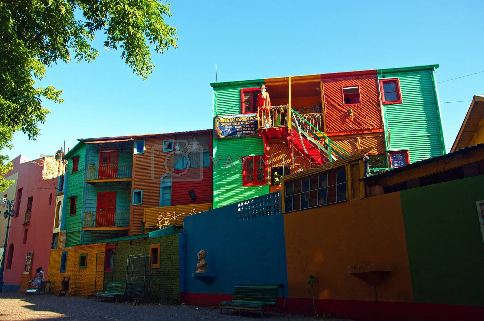Colors from the La Boca neighborhood of Buenos Aires, Argentina.