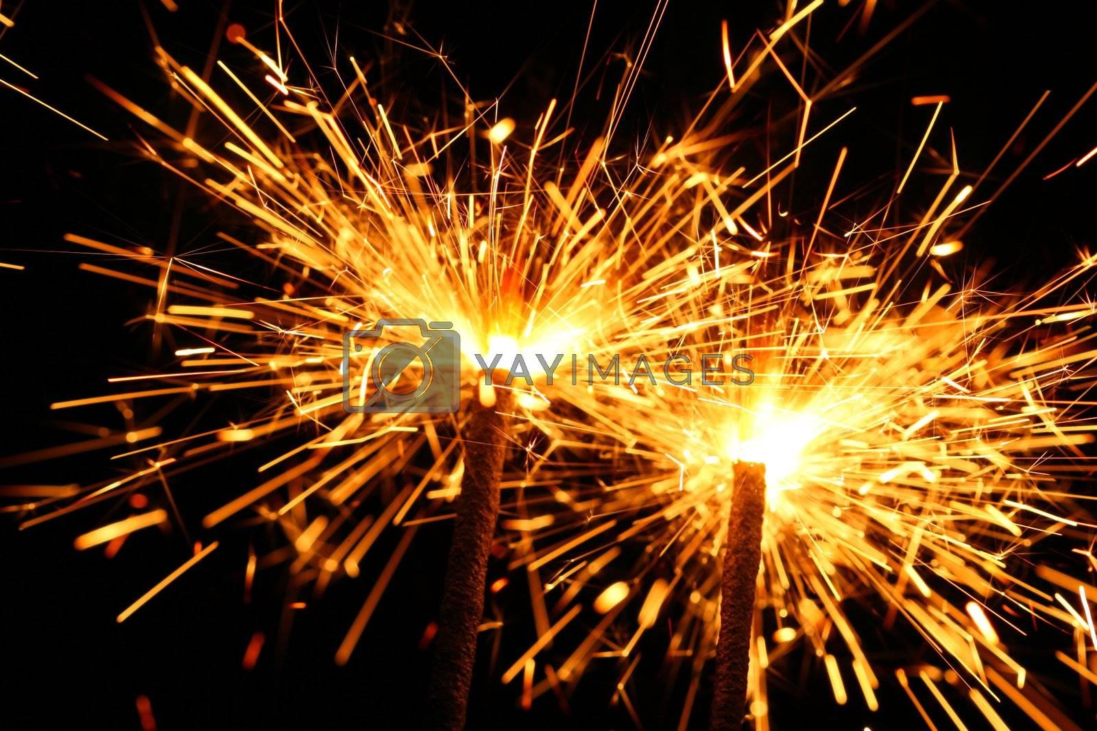celebration sparklers by Yellowj