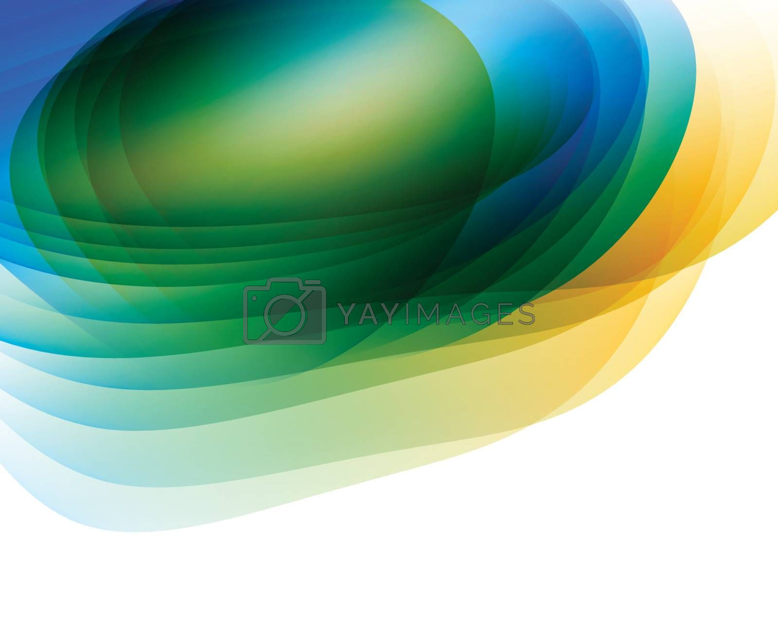 Colored abstract background with place for your text