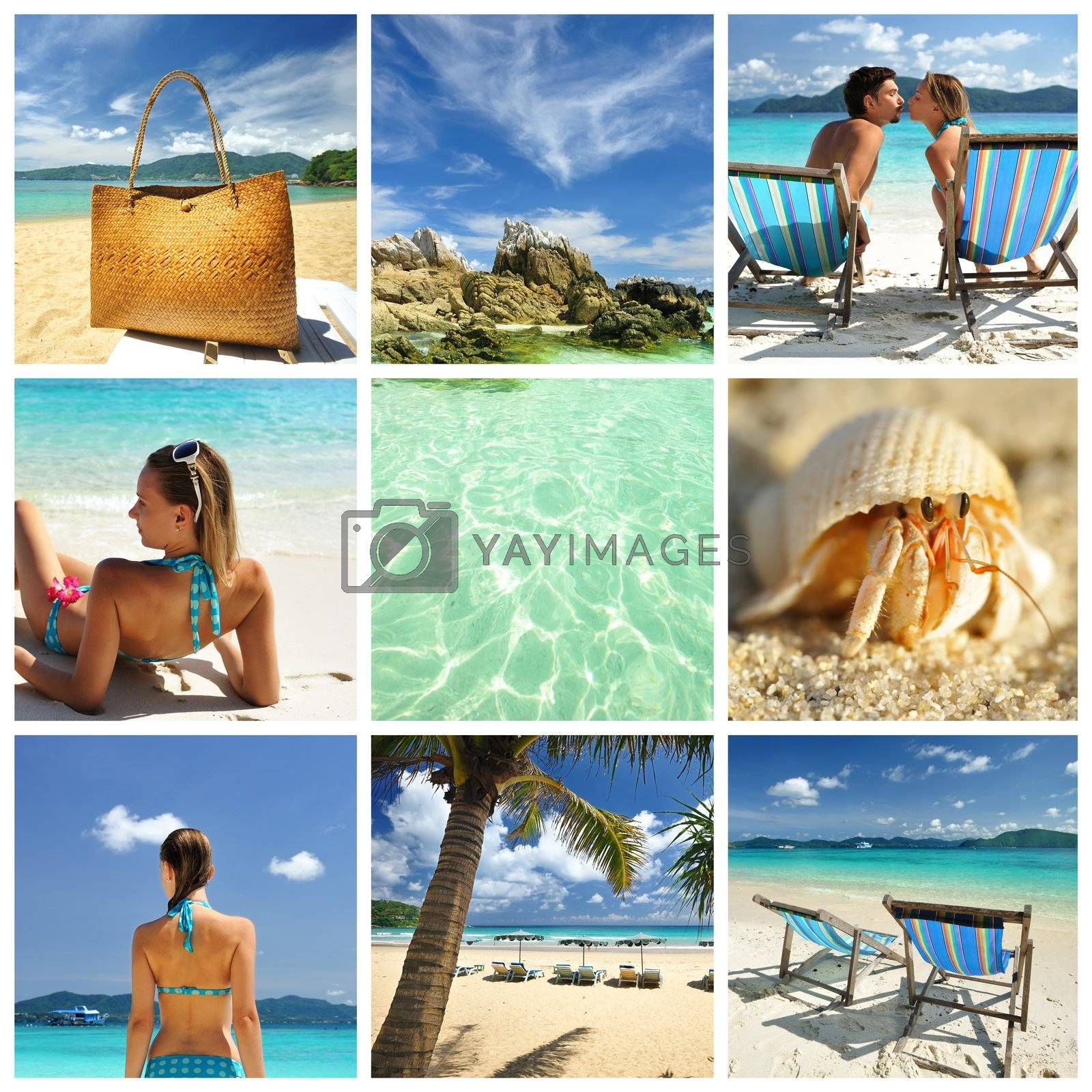Resort collage by haveseen