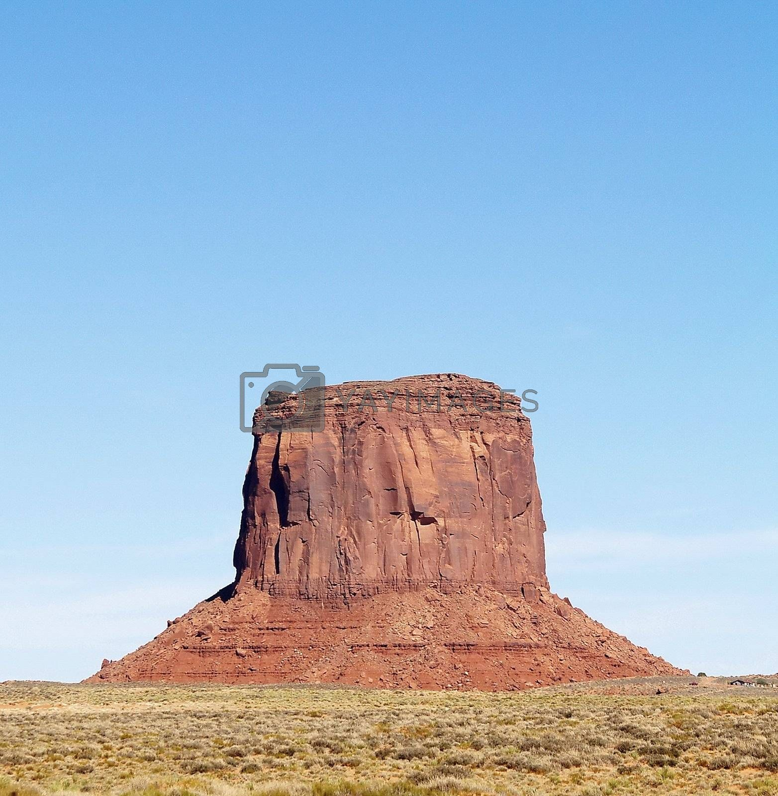 Rock of Monument Valley, USA