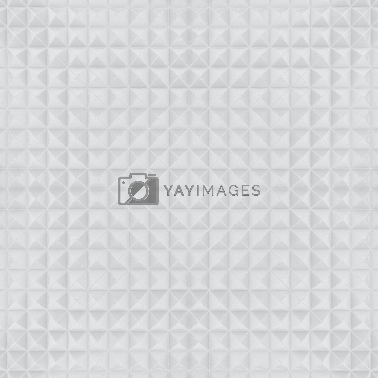 White tiles background, sculptured texture