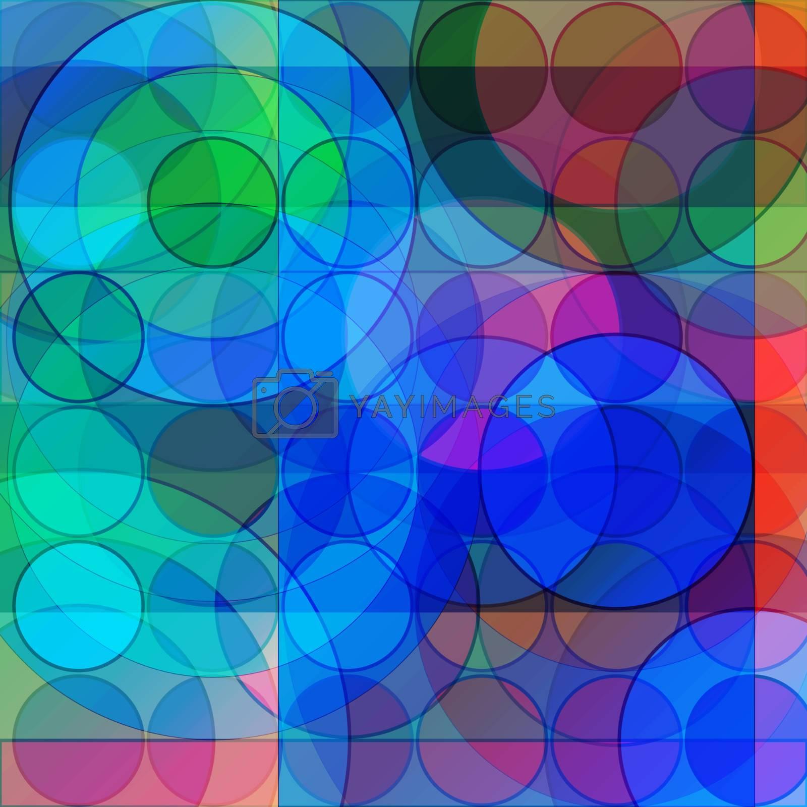 geometric background by anelina