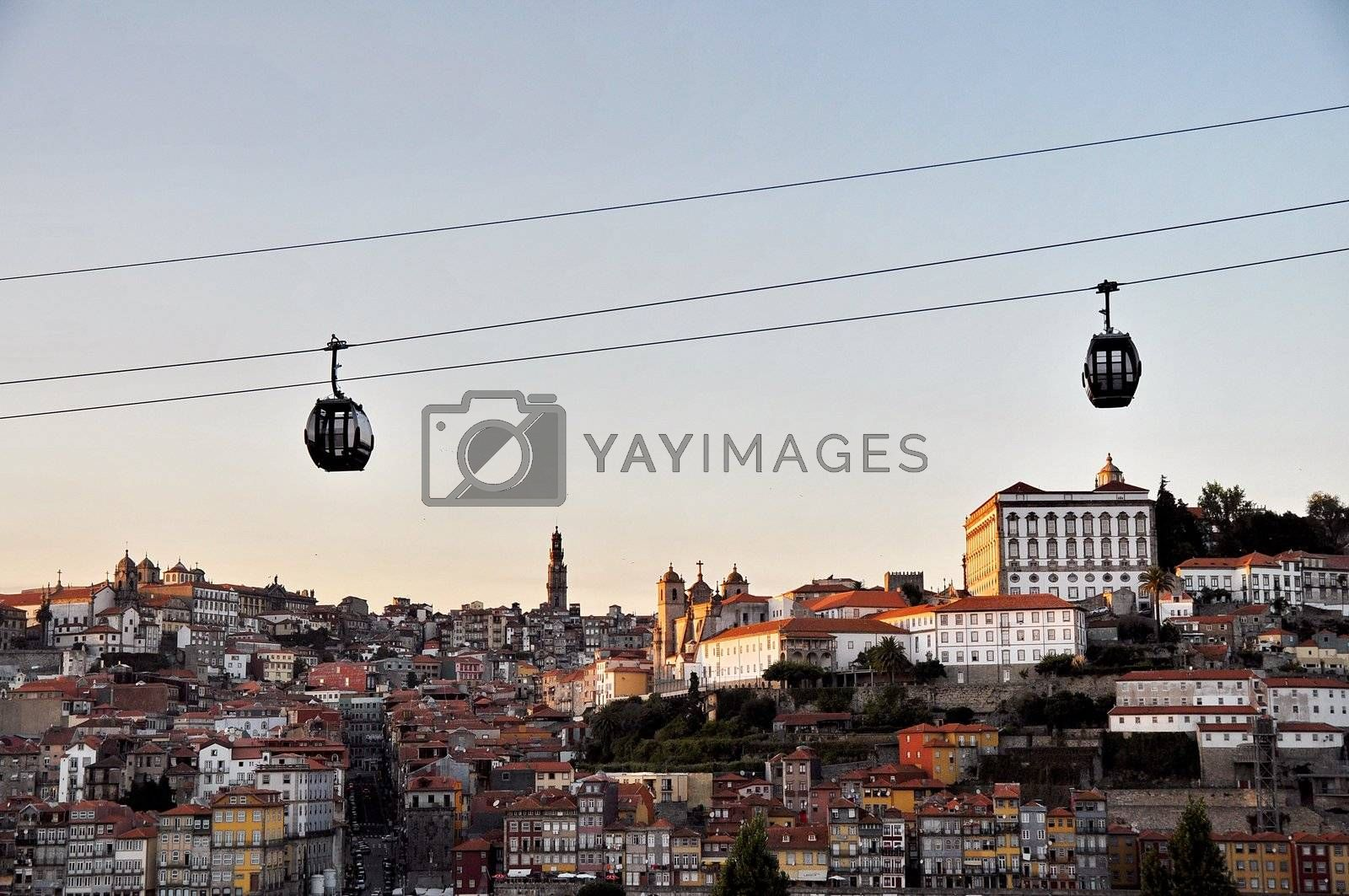 Cable car of Porto (Portugal) by anderm