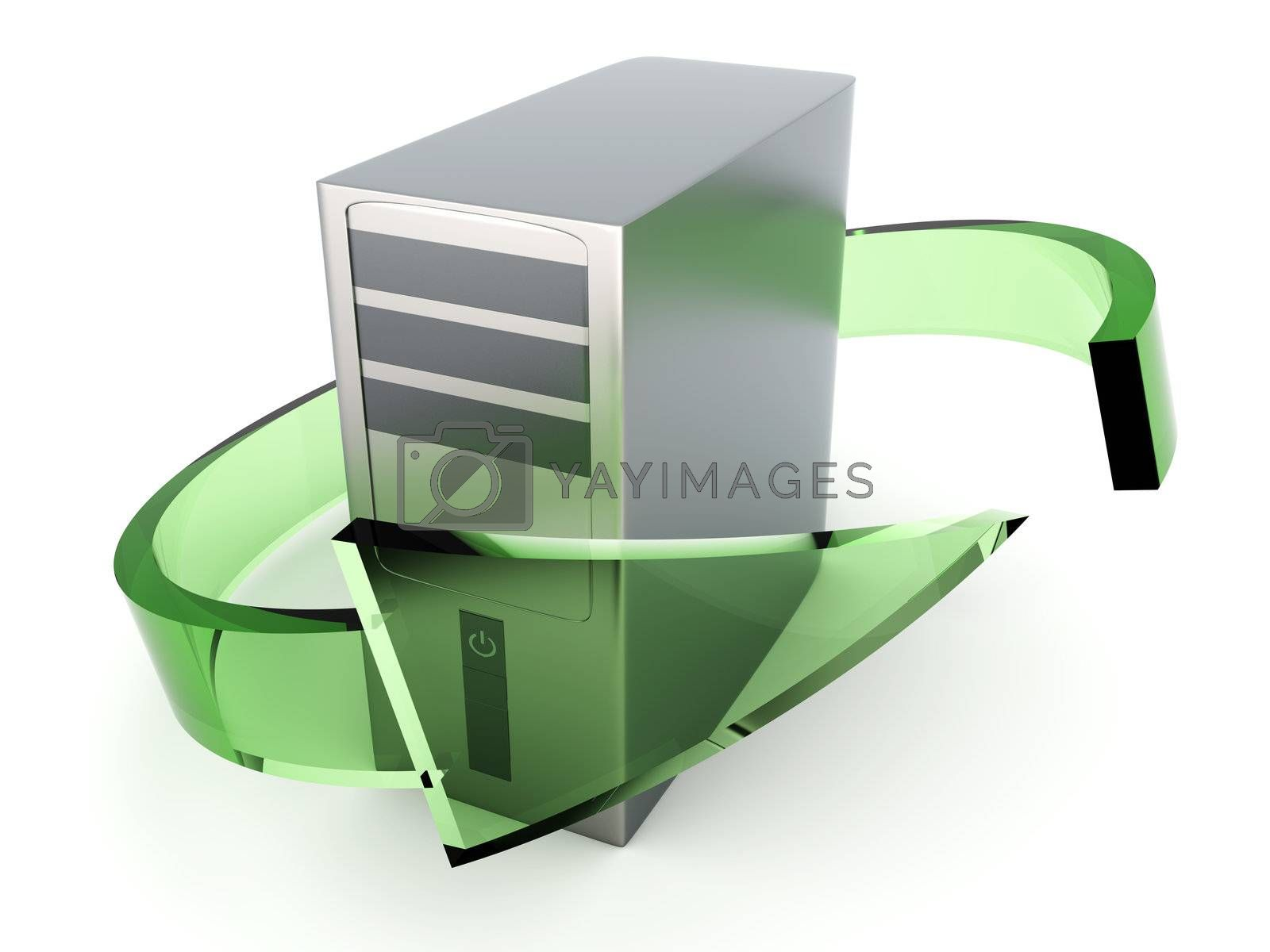 Desktop PC Recycling by Spectral