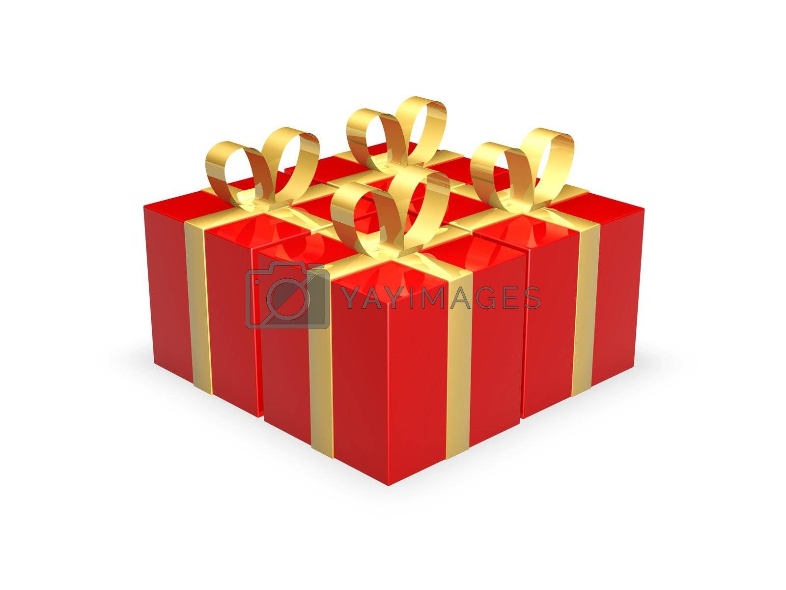 Four Gift Boxes by Spectral
