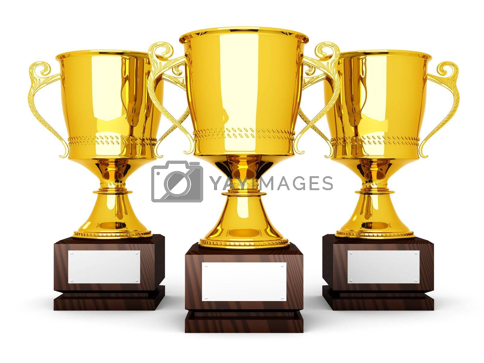 Three Trophies by Spectral