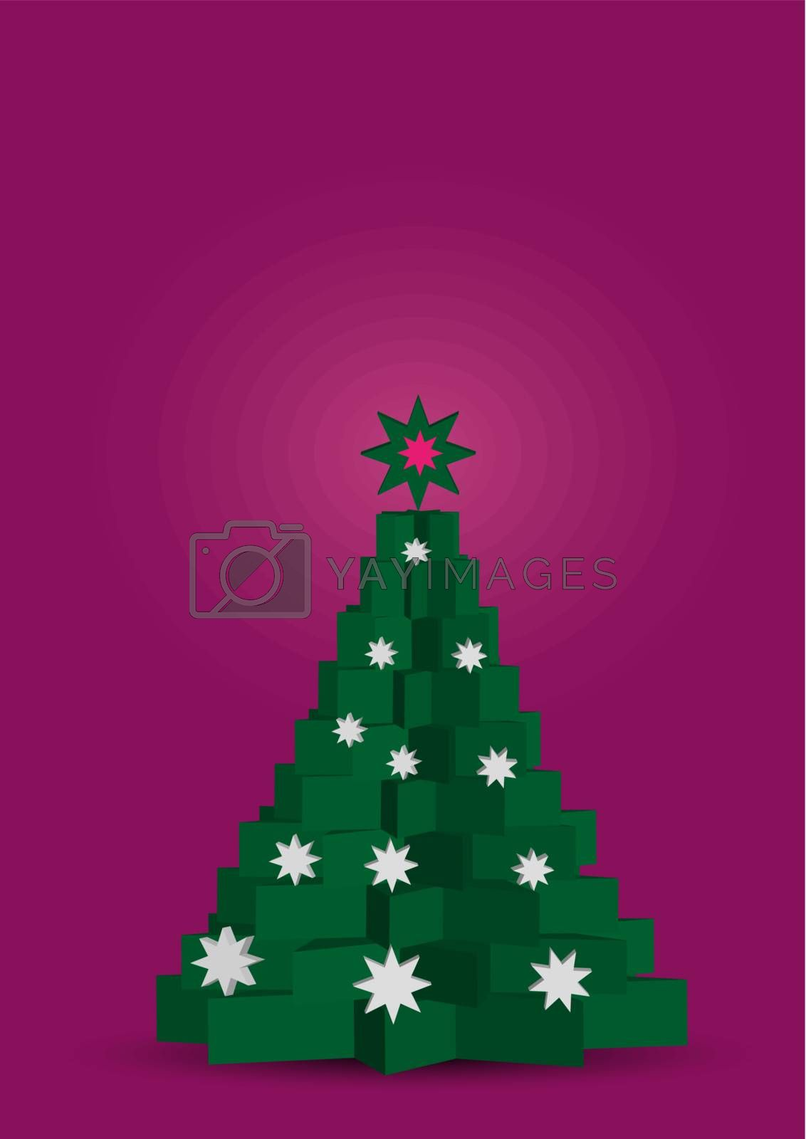 3d Christmas tree by studio023