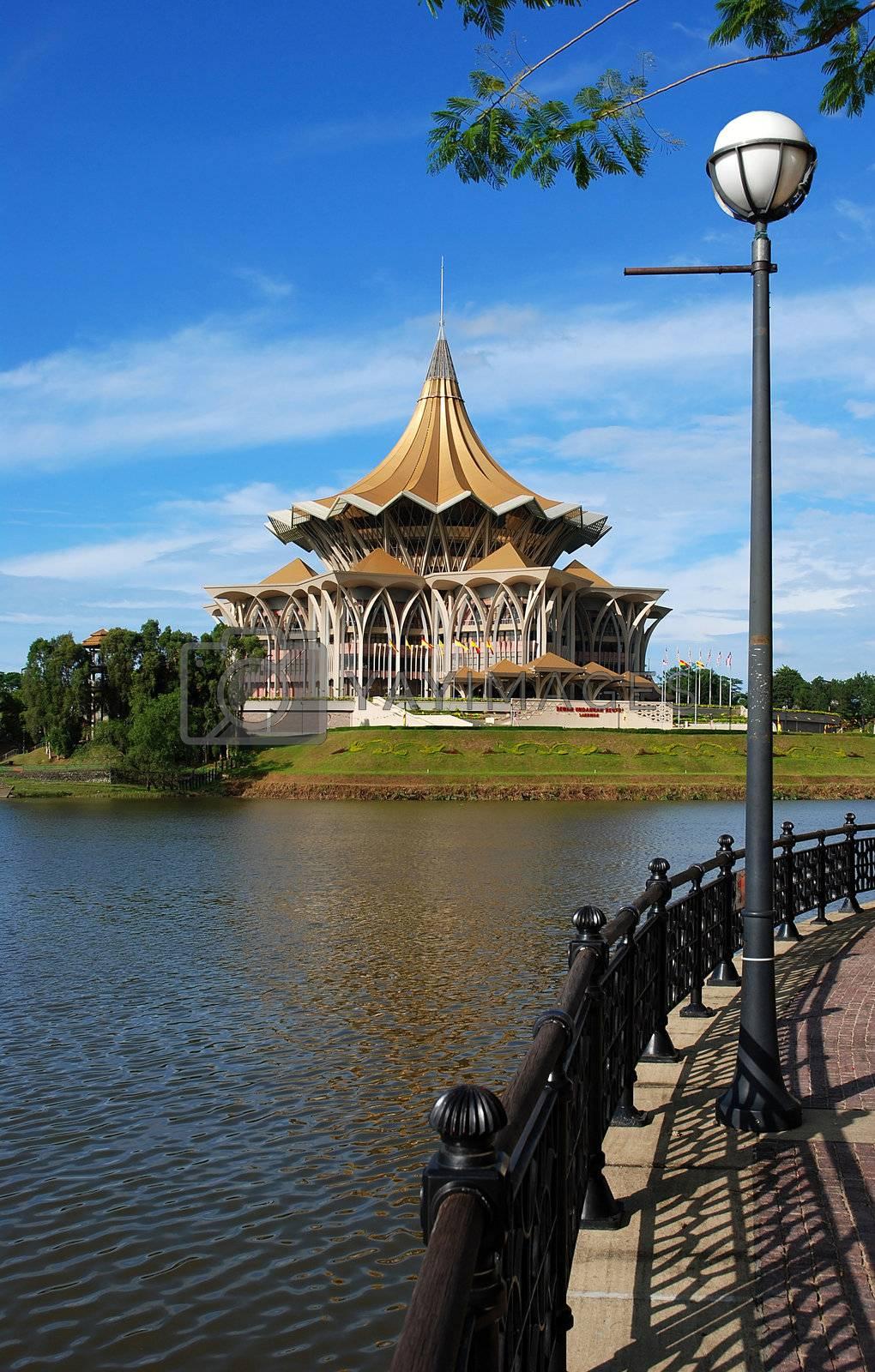 borneo kuching parliament by studio023