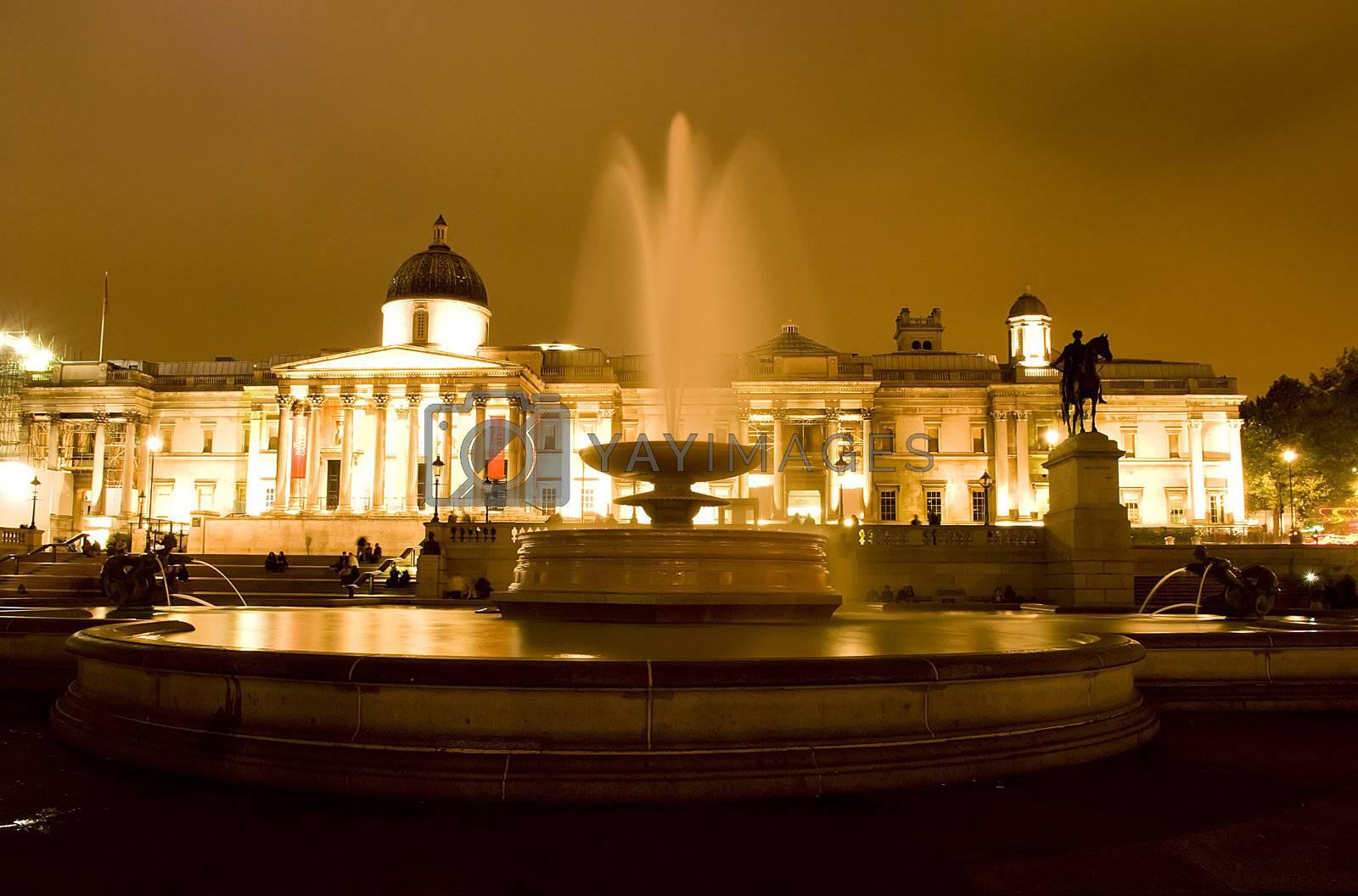 Trafalgar square by Dessie_bg