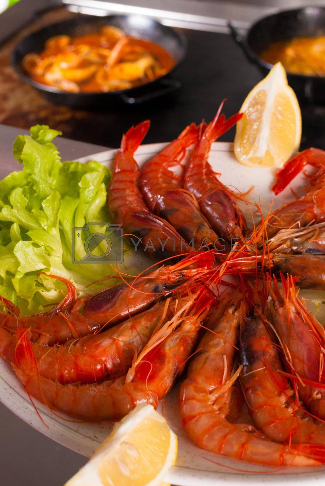 Seafood ingredient by hemeroskopion