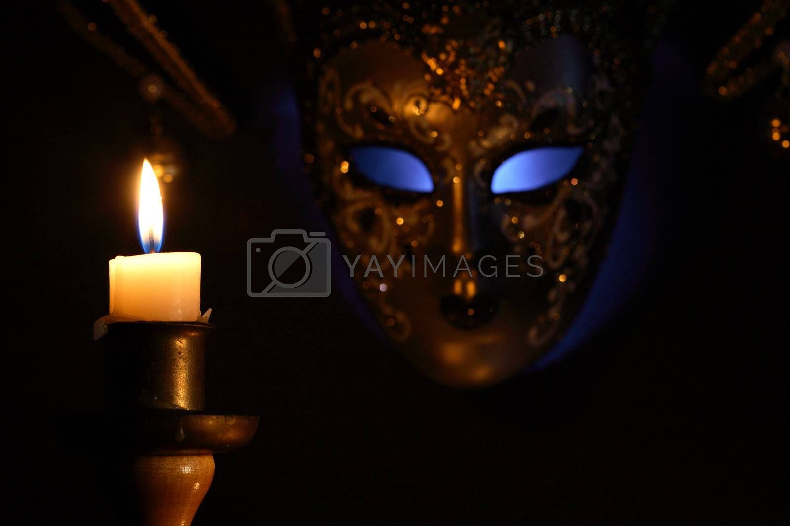 Candle And Mask by kvkirillov
