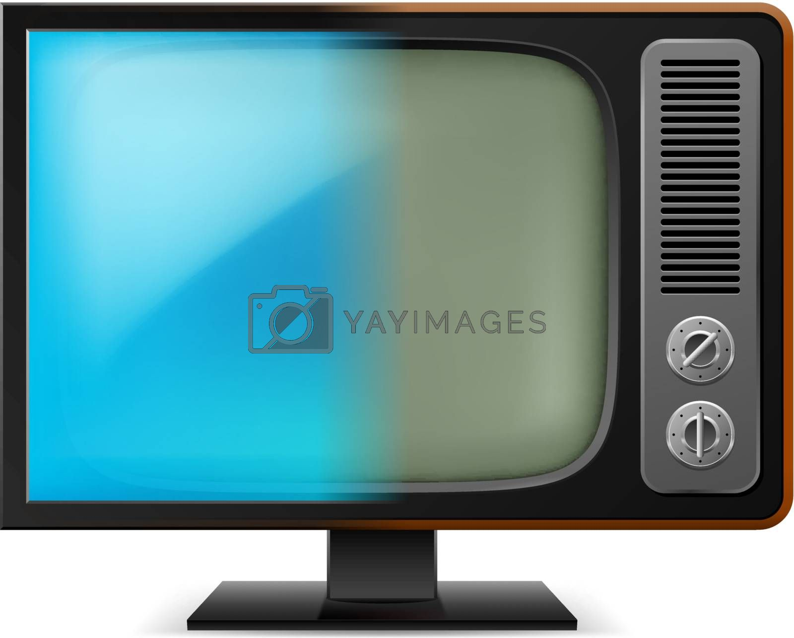 Old television by dvarg