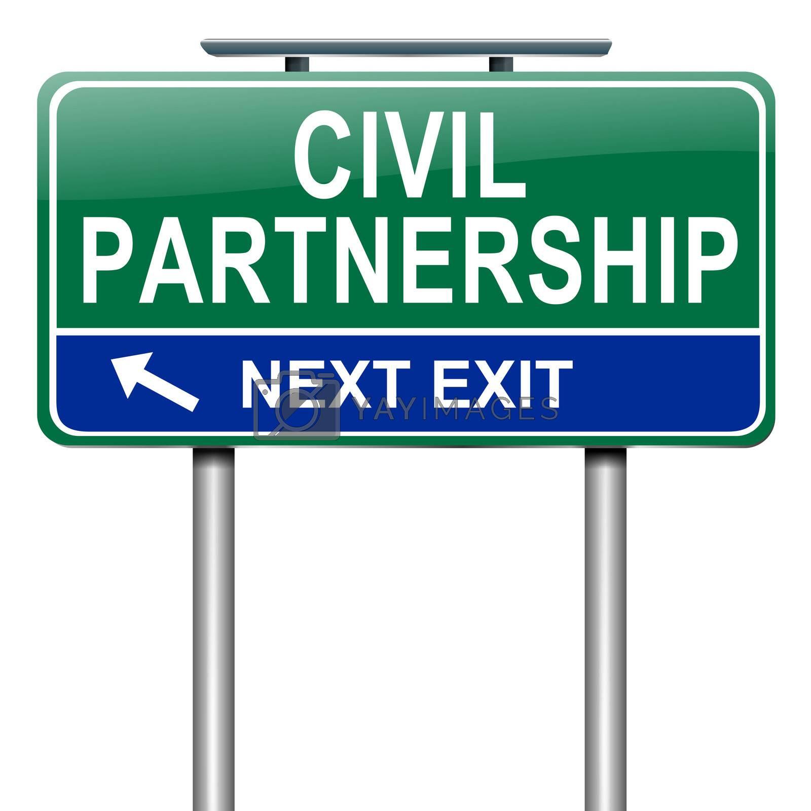 Civil Partnership concept. by 72soul