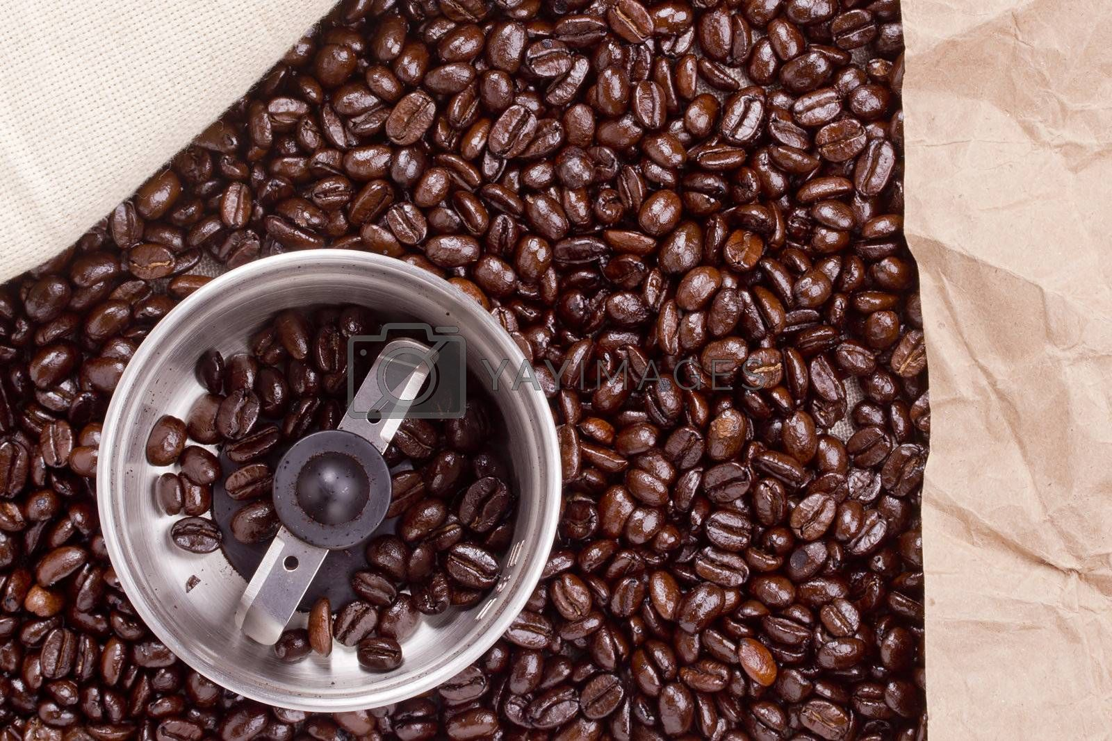 Coffee beans by VIPDesignUSA
