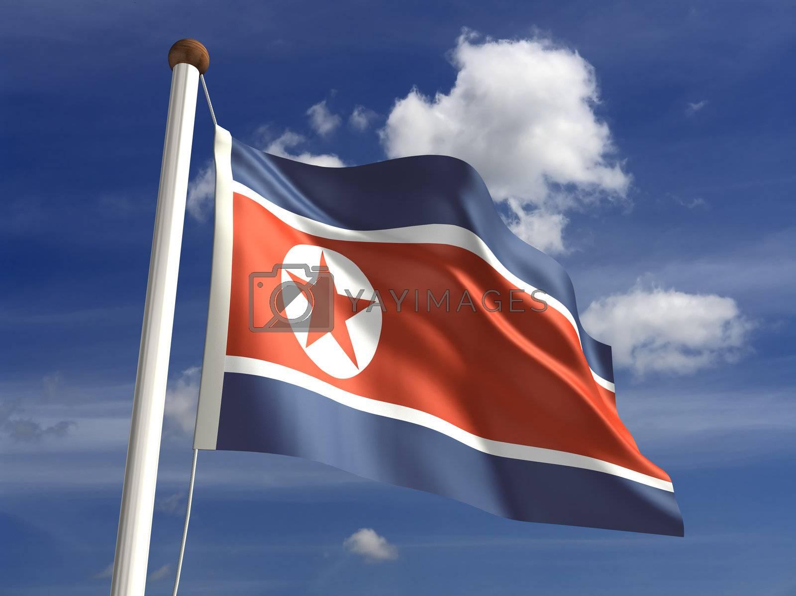 North Korea flag by selensergen