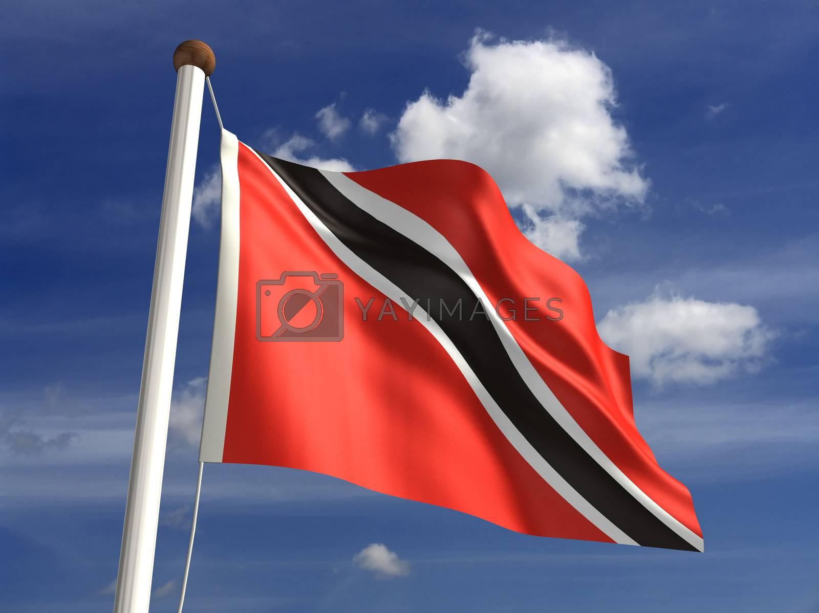 Trinidad and Tobago flag by selensergen