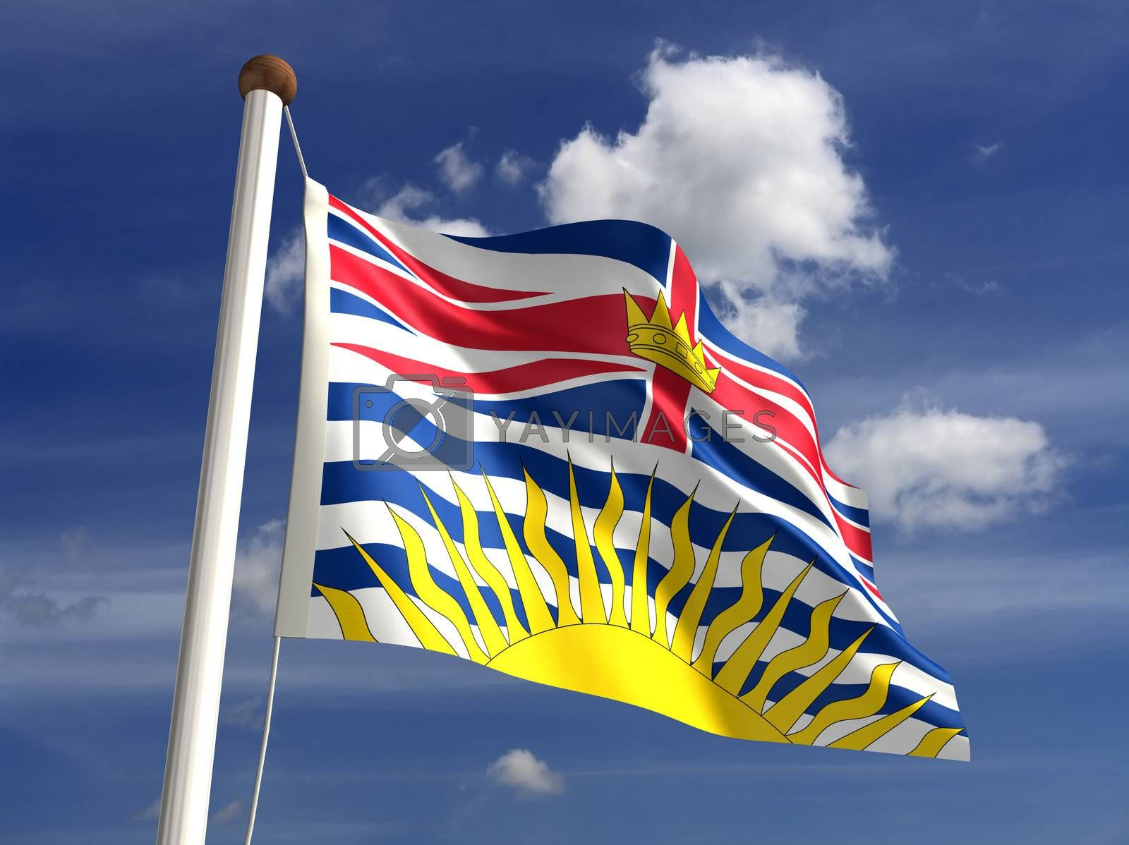 British Columbia flag Canada by selensergen