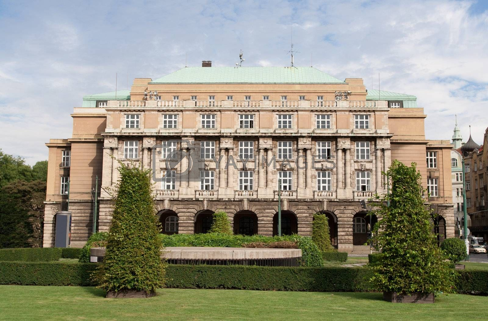 Building Karolinum education complex Charles university Prague C by SergeyAK