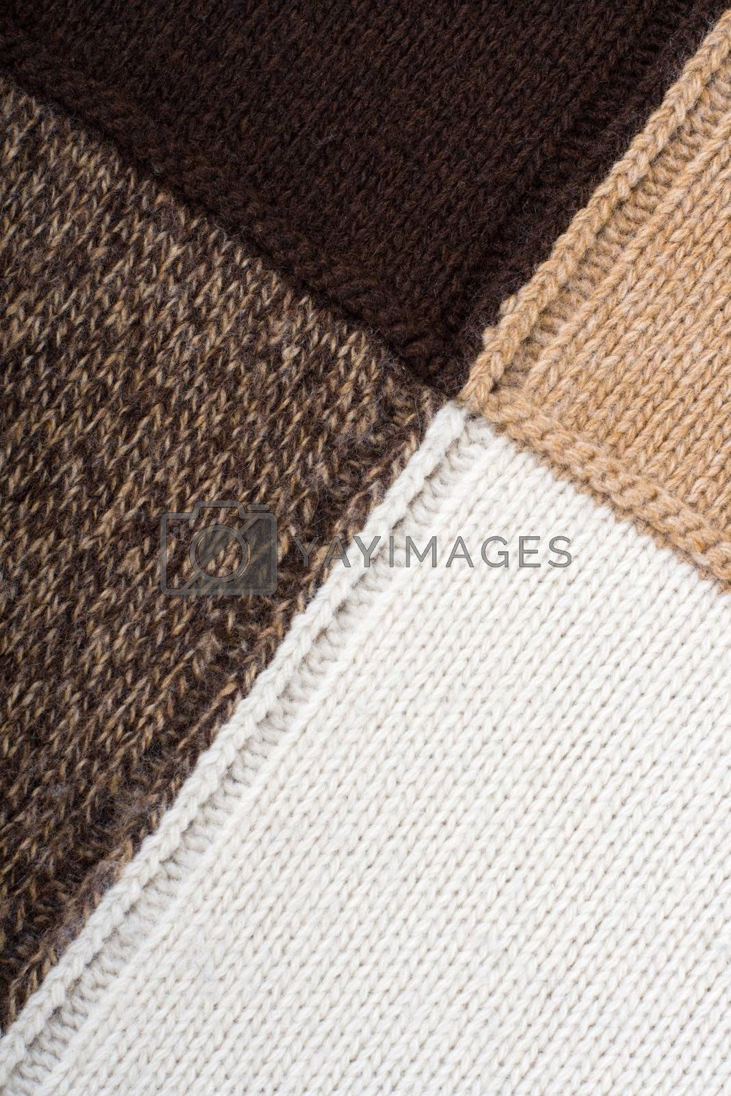 Knitted textile Backgrounds Abstract  by SergeyAK