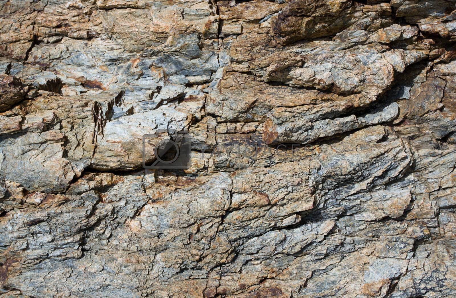 Rock stone pattern, textured backgrounds by SergeyAK