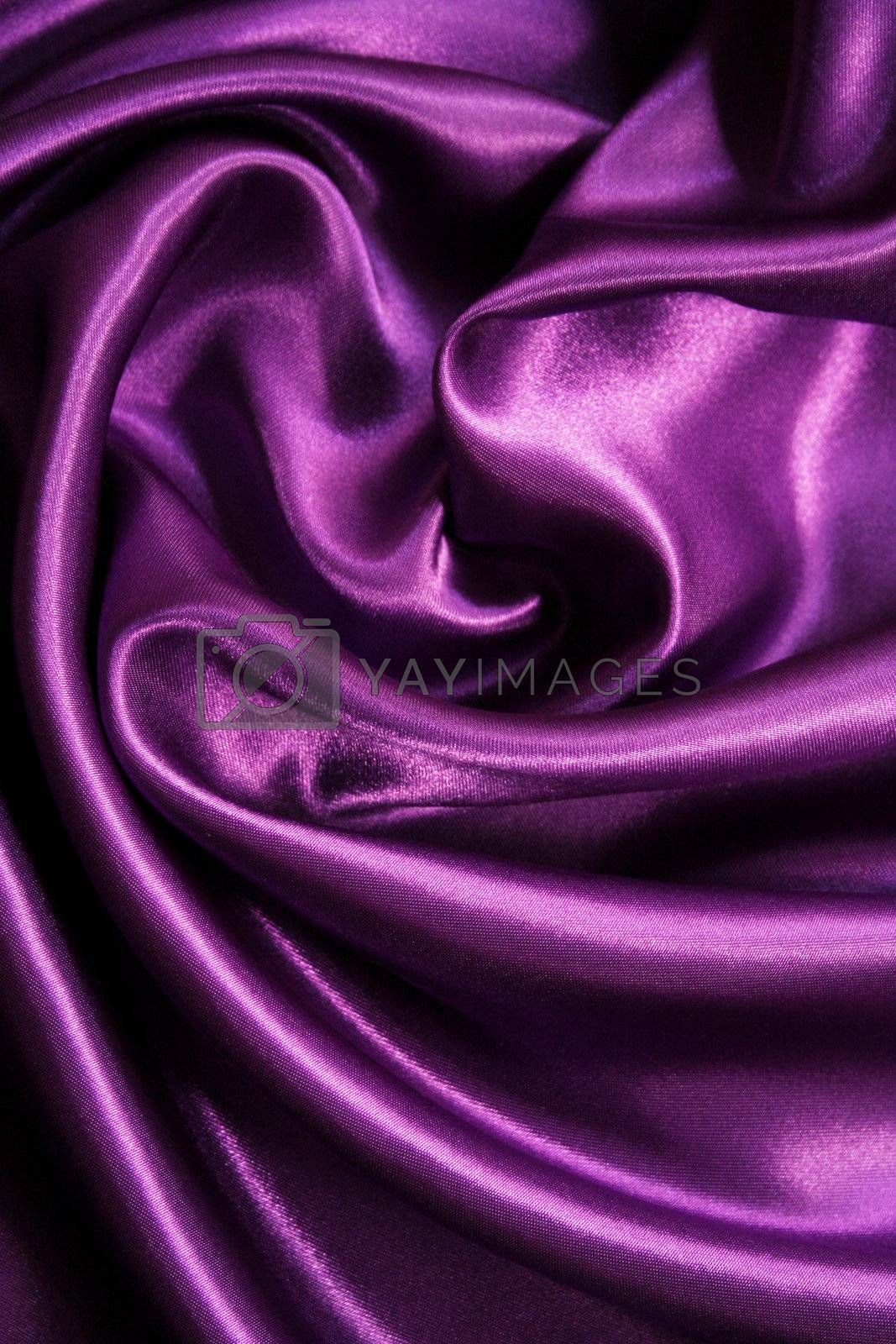 Smooth elegant lilac silk by oxanatravel