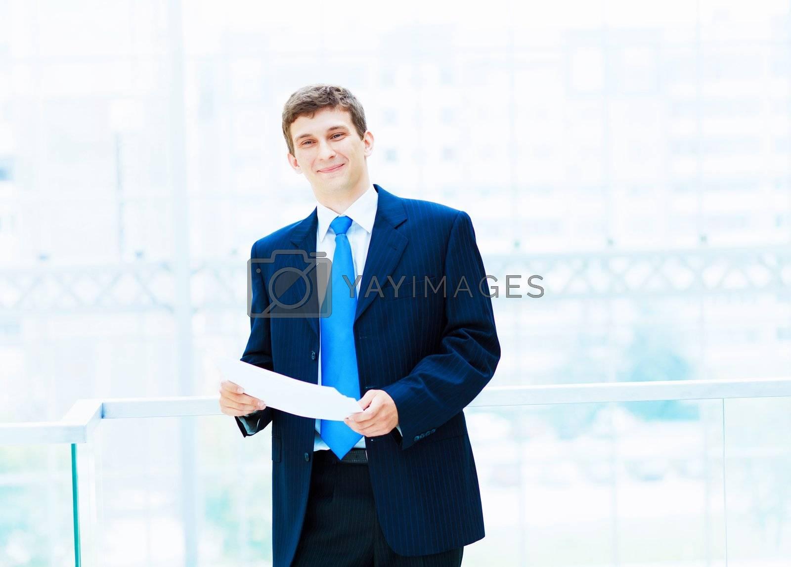 portrait of a businessman... by Sergey Nivens
